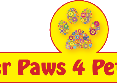 Jer paws 4 Pets Logo